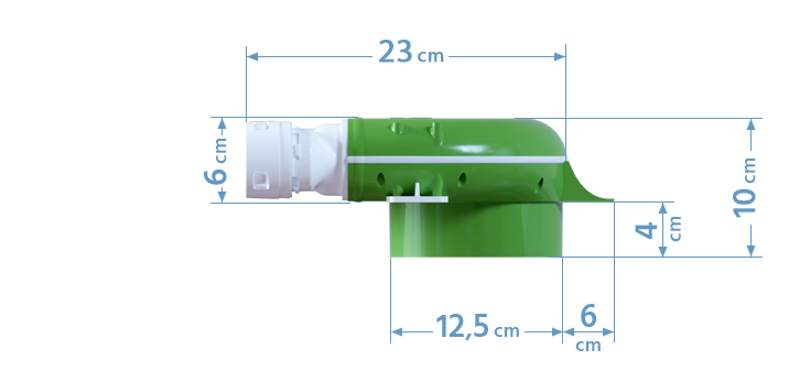 Wymiary skrzynki rozprężnej 5x50/125