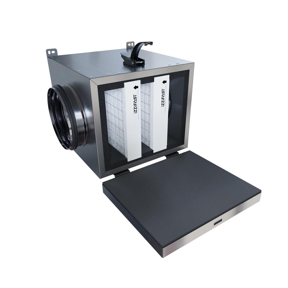 Antysmogowa izolowana skrzynka filtracyjna iZZiFAST 160