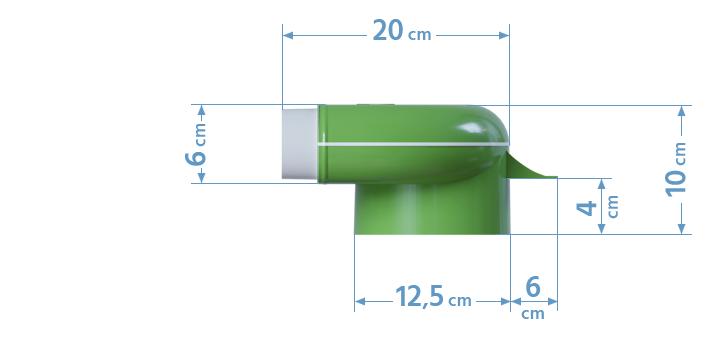 Wymiary skrzynki rozprężnej 4x50/125
