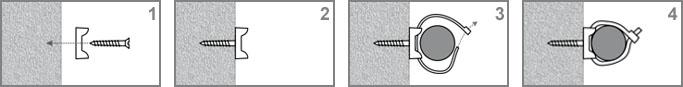 Podstawki montażowe - montaż