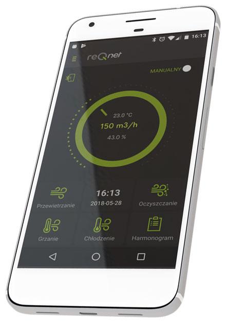 reQnet - aplikacja mobilna