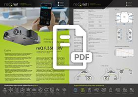 reQ F.350 ERV  - karta produktu