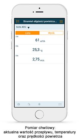 testo 405 smart probes app