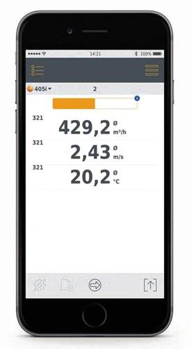 Testo Smart Probes App